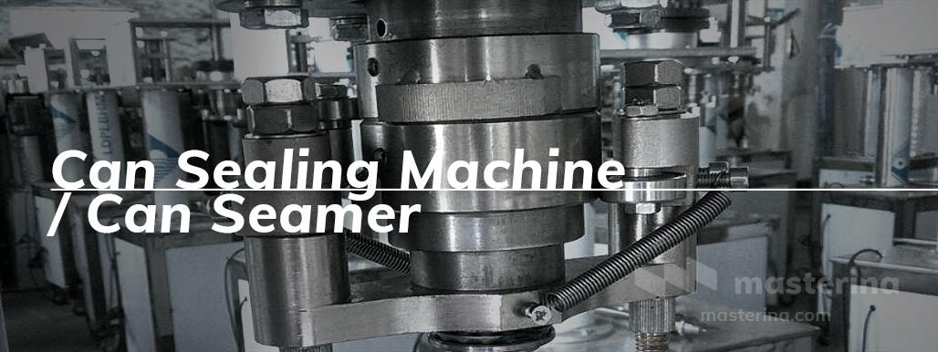 mesin seamer penutup kaleng